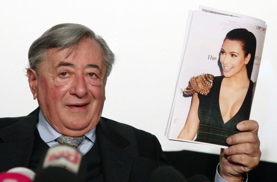Richardas Lugneris pranešė, kad jo organizuojamame Vienos pokylyje dalyvaus Kim Kardashian