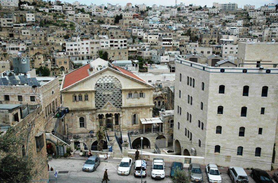 Turas po Hebroną Europos žurnalistams