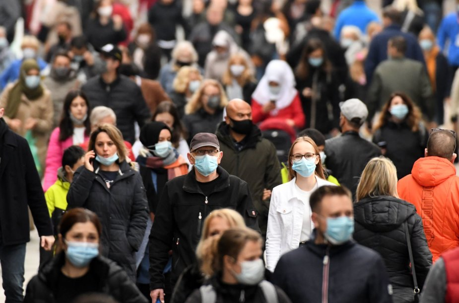 Vokietija pasitinka antrąją koronaviruso bangą