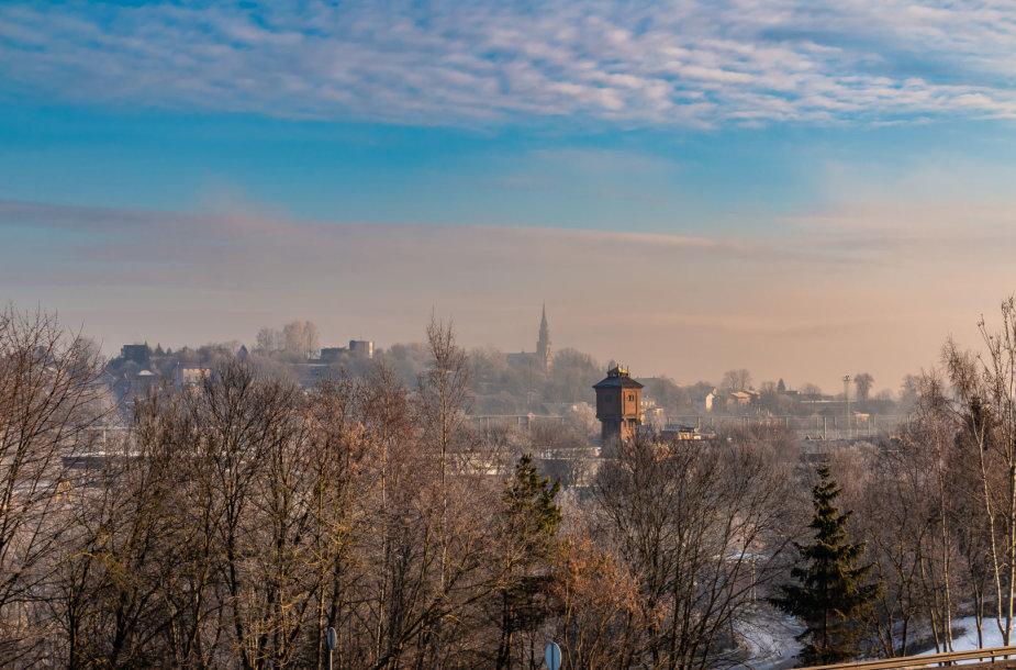 Žiemos peizažai Naujojoje Vilnioje