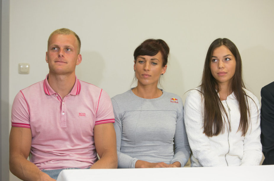 Rolandas Maščinskas, Donata Vištartaitė, Milda Valčiukaitė