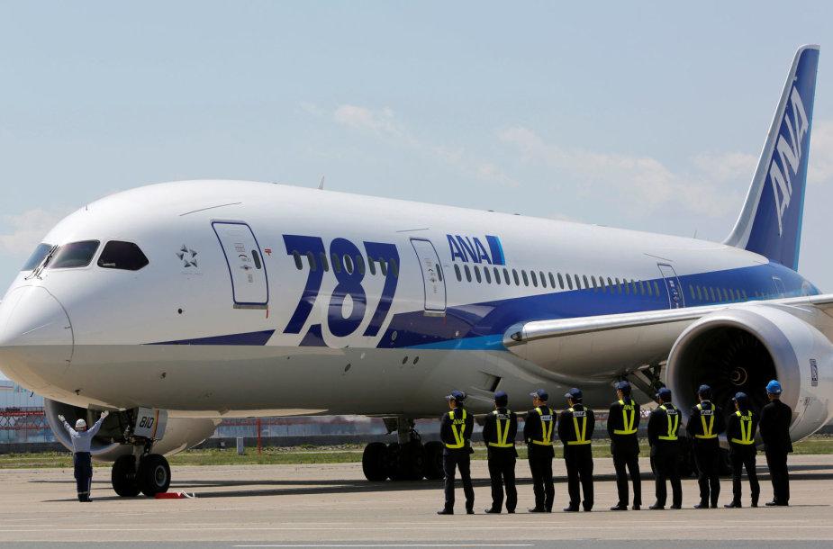"""Aviakampanijos """"All Nippon Airways"""" lėktuvas"""