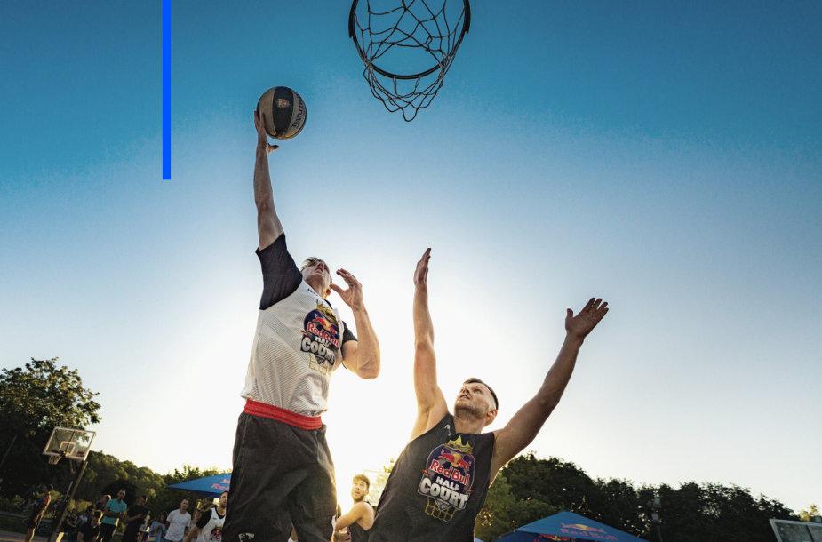 Red Bull Half Court 3x3 krepšinio čempionato atranka Kaune