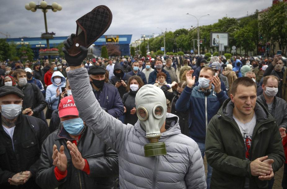 Demonstracija Baltarusijoje