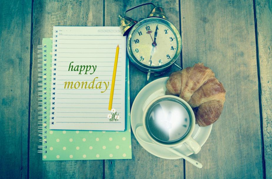Laimingo pirmadienio!
