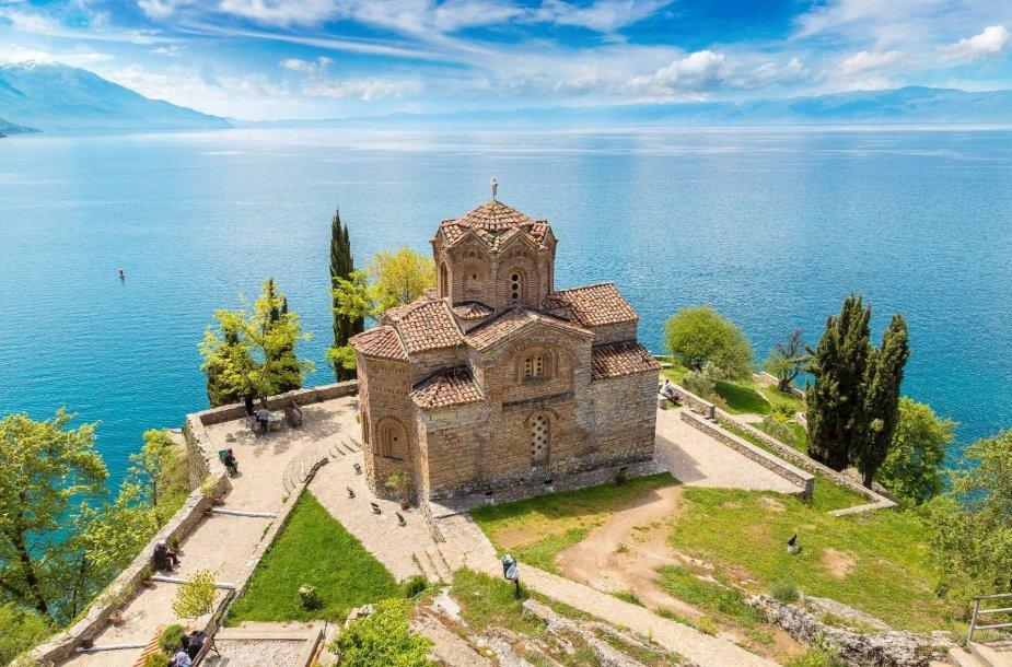 Ochrido ežero krantas, Makedonija