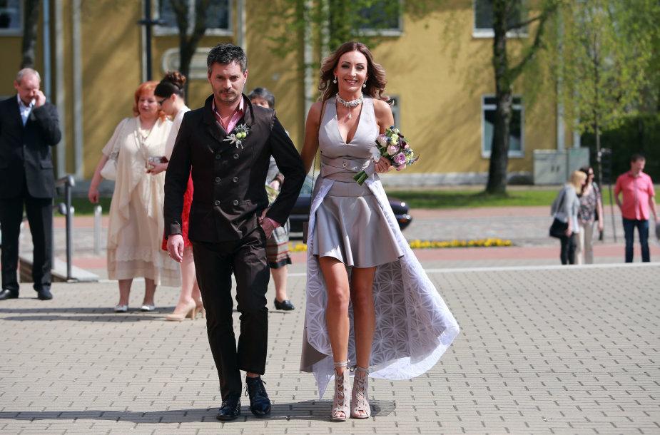 Gerdos Stiklickienės ir Andriaus Žemaičio vestuvės