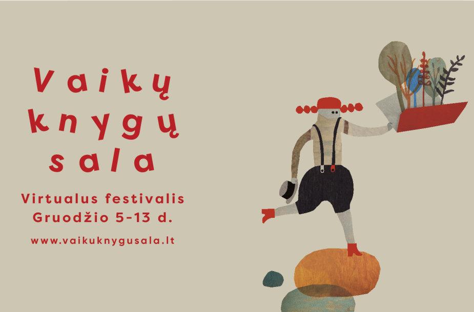 """Festivalis """"Vaikų knygų sala"""""""