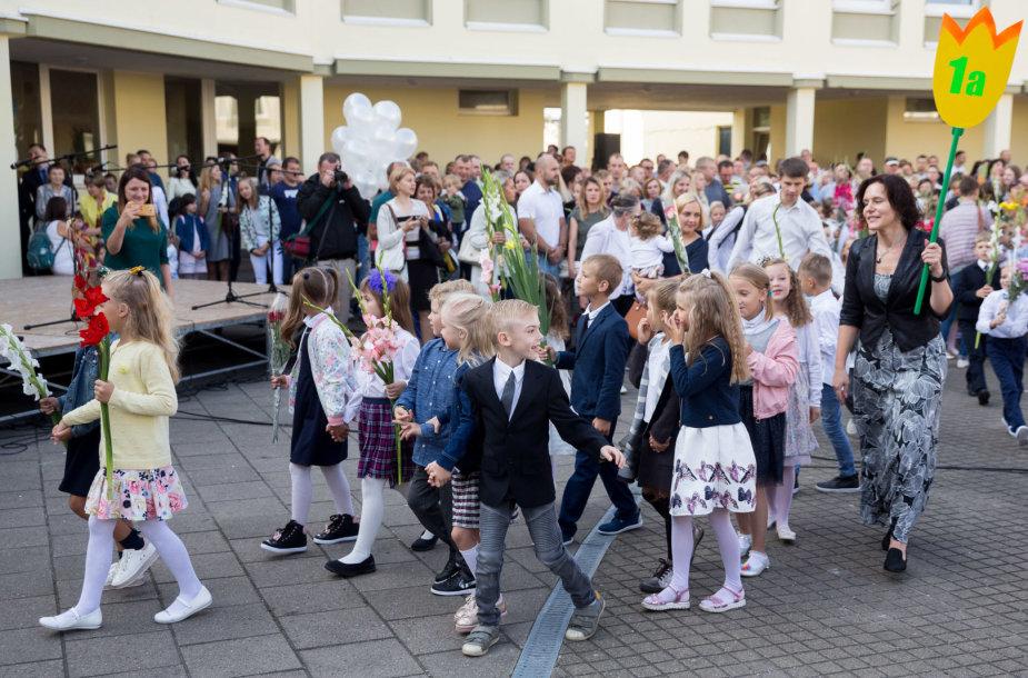 Rugsėjo 1-osios šventė M.Mažvydo progimnazijoje