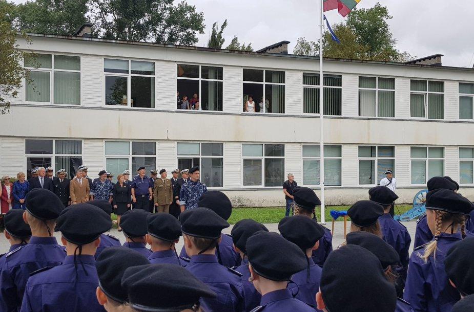 Klaipėdoje pradėjo veikti Kadetų mokykla
