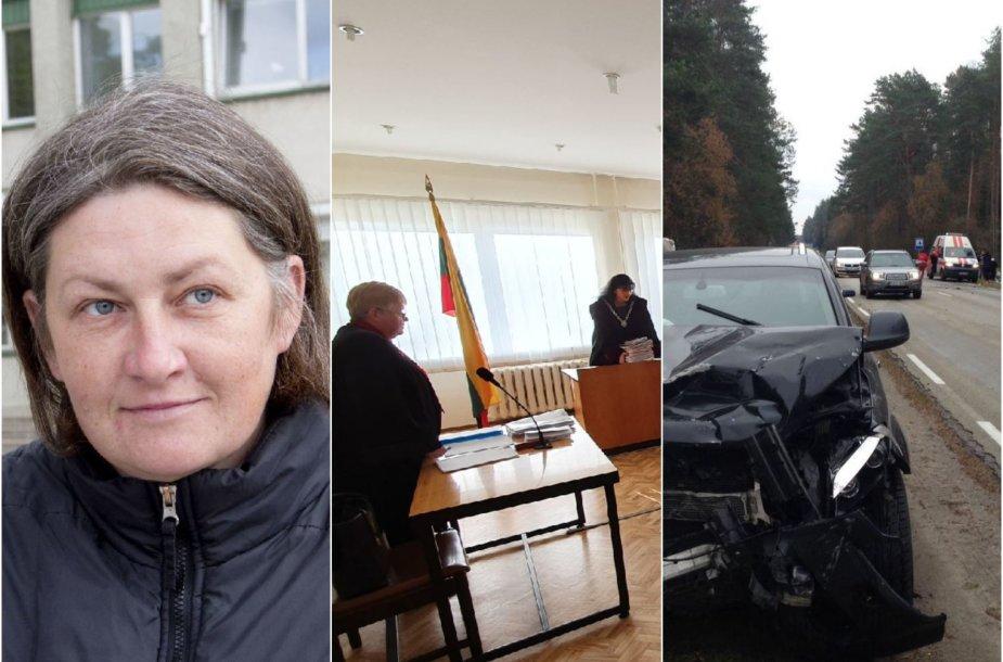 Po avarijos teisiamai dukters netekusiai J.Jankauskienei (kairėje) nušvito viltis, kad ekspertai pagaliau atskleis tiksliausią tragiško įvykio siužetą.