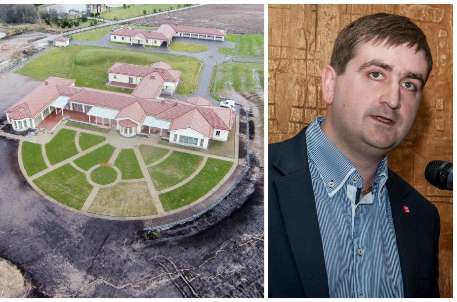 Politiko Mariaus Muižiniko žmonos valdomoje teritorijoje specialistai nustatė ne vieną statybų pažeidimą