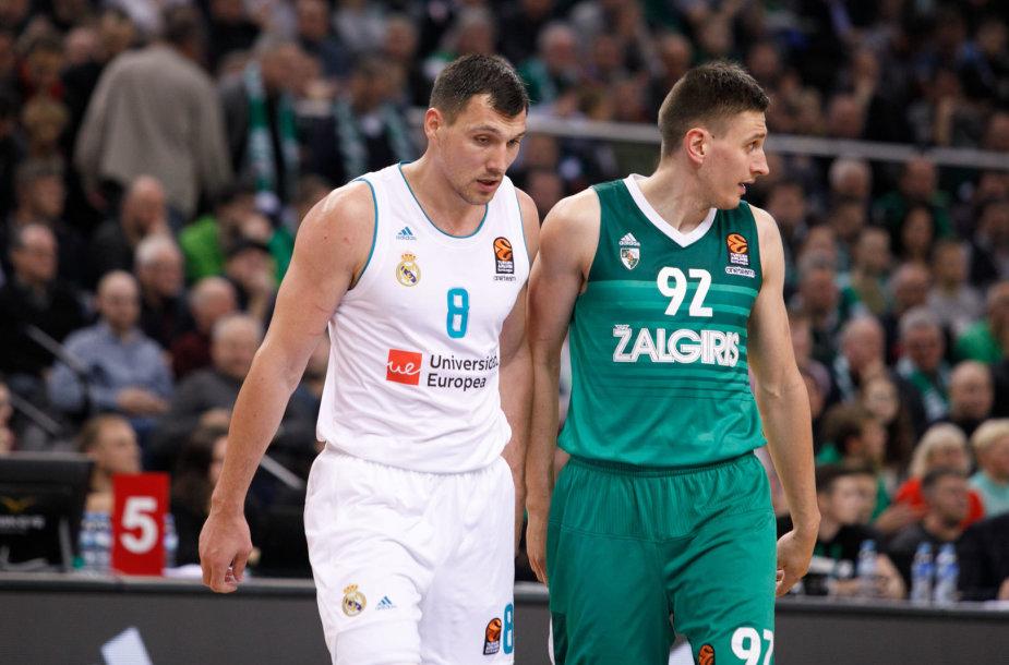 Jonas Mačiulis ir Edgaras Ulanovas