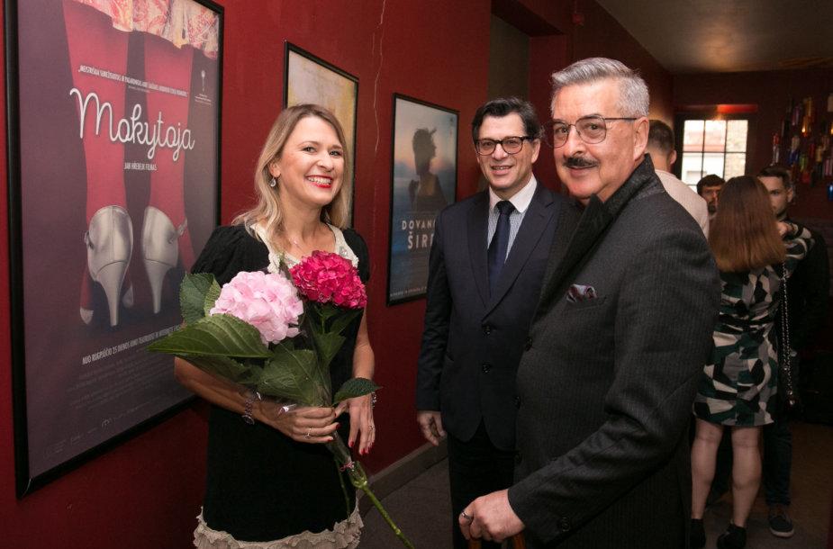 Greta Akcijonaitė, Eugenijus Skerstonas, Vytenis Pauliukaitis