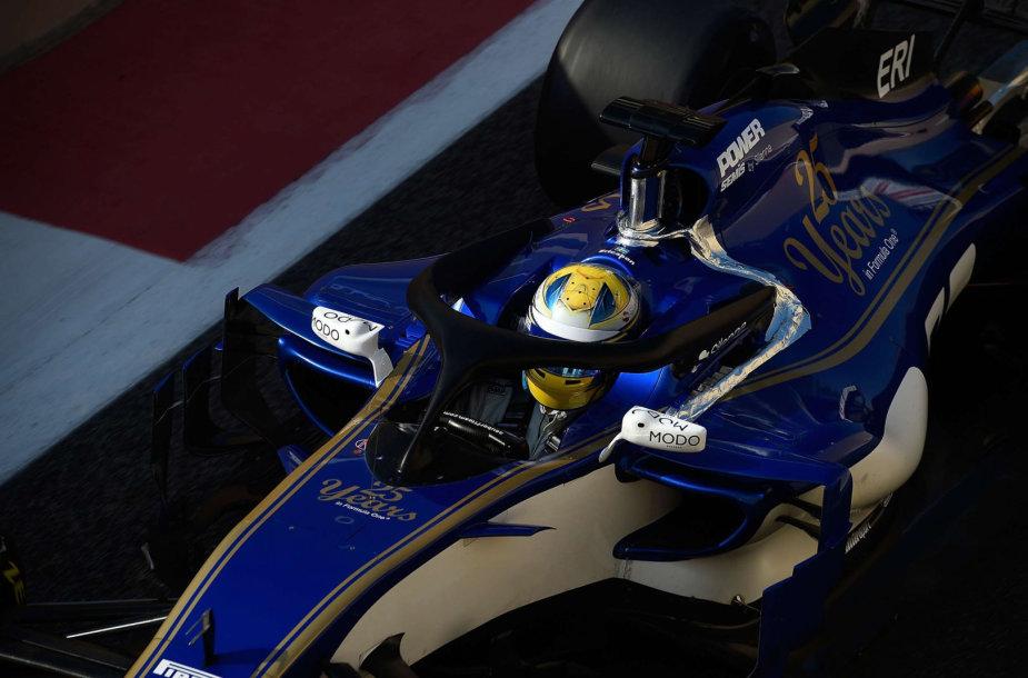 "Marcusas Ericssonas, ""Sauber F1 Team"""