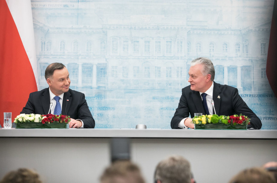 Andrzejus Duda ir Gitanas Nausėda