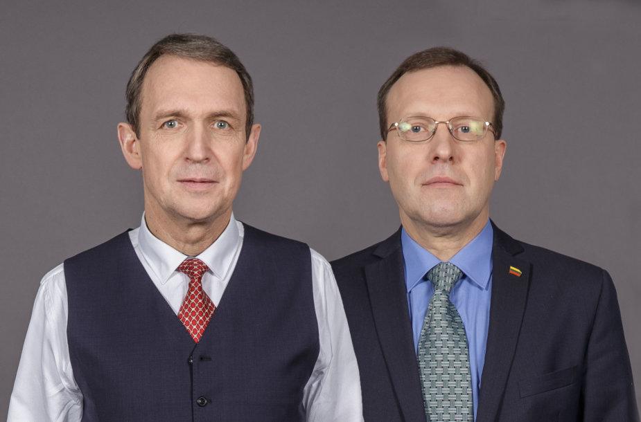 Arvydas Juozaitis ir Naglis Puteikis