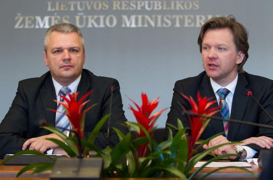 Vigilijus Jukna ir Rytis Šatkauskas