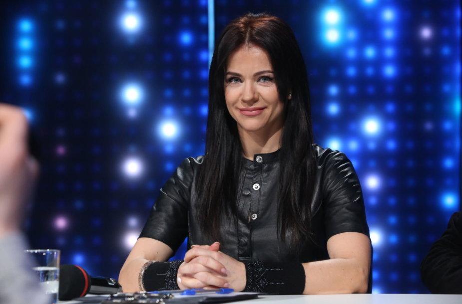"""""""Eurovizijos"""" atrankos akimirka"""