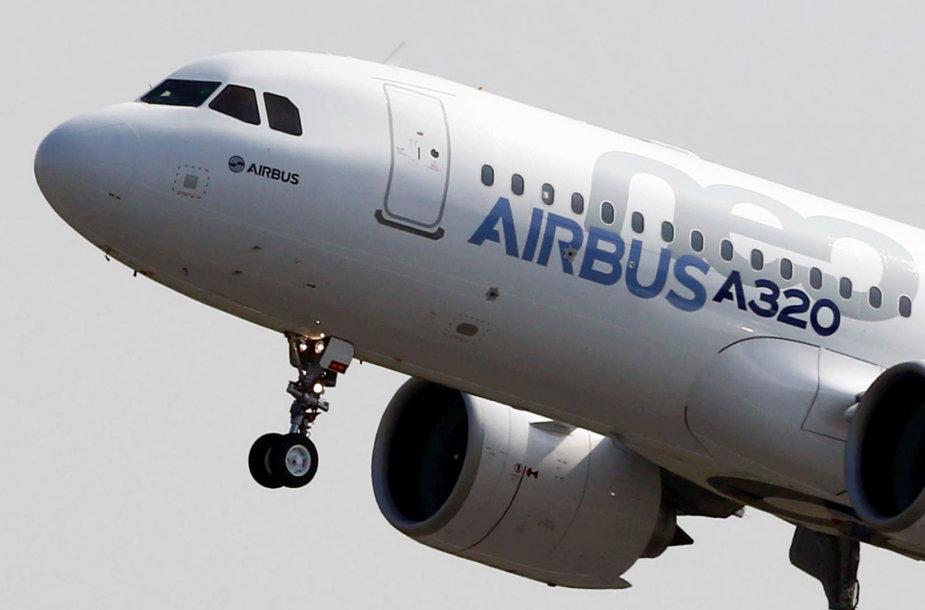 """Populiariausias """"Airbus"""" modelis """"A320neo"""""""