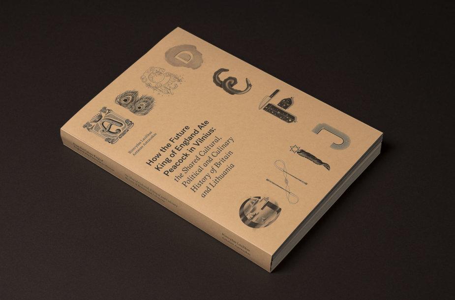 Gastronominės knygos dizainas