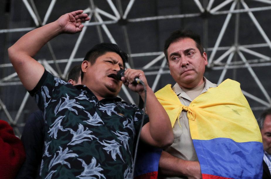 Jaime Vargasas (kairėje)