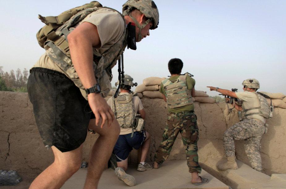 JAV ir Afganistano kariai