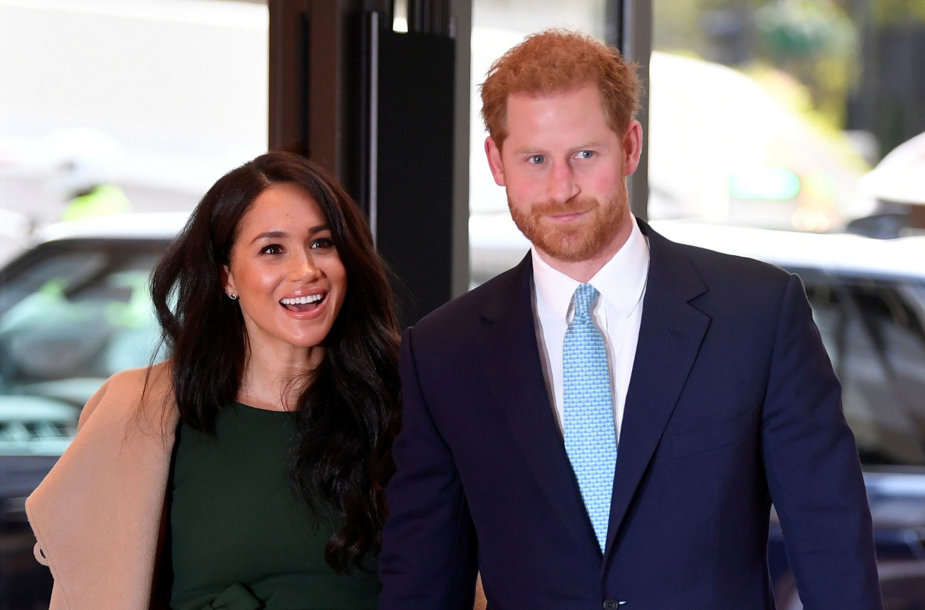 "Meghan Markle ir princas Harry ""WellChild"" apdovanojimuose"