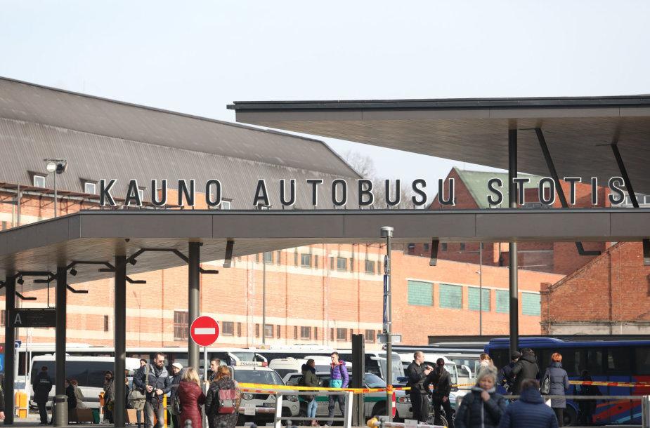Evakuota autobusų stotis