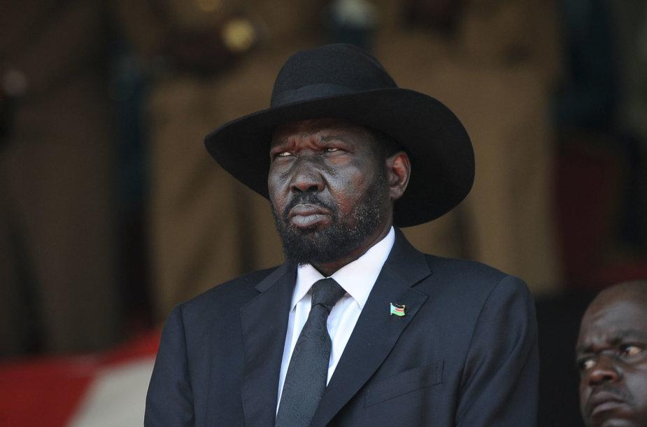 Pietų Sudano prezidentas Salva Kiiras