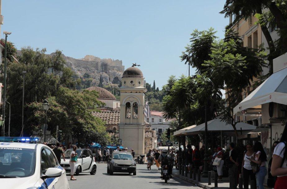 Žemės drebėjimo Atėnuose padariniai