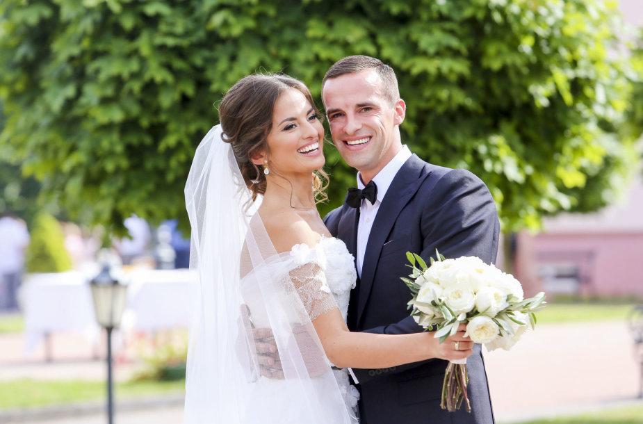 Ernestos Kalinauskaitės ir Roko Aurylos vestuvės