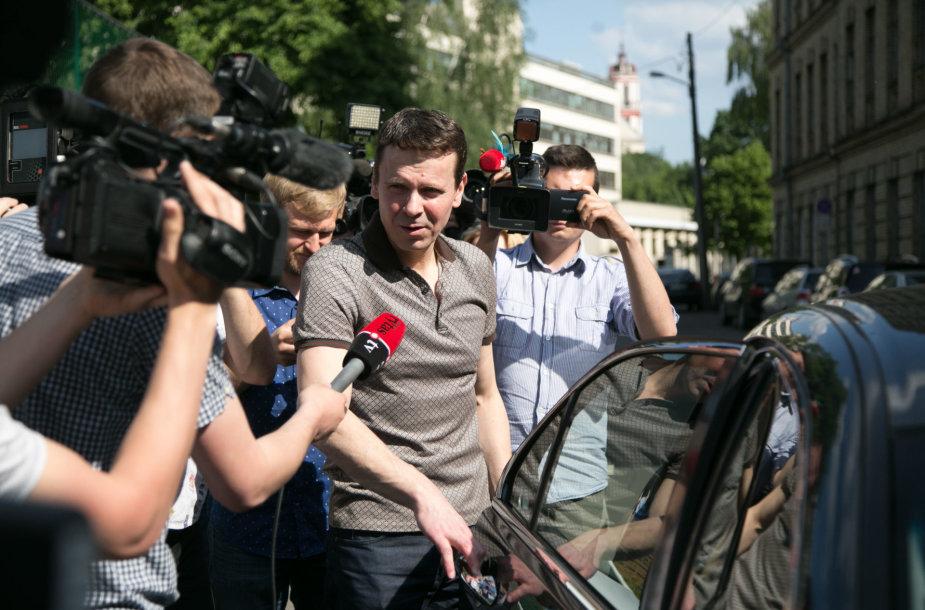Raimondas Kurlianskis paleistas iš Lukiškių kalėjimo
