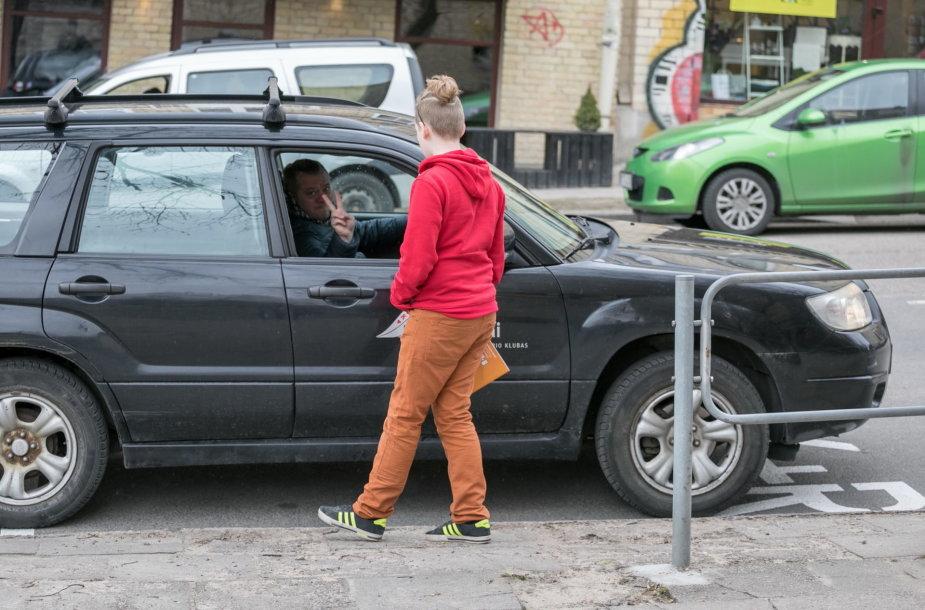 """""""Kiss and Ride"""" trumpų sustojimų sistemos pristatymas Vilniuje"""