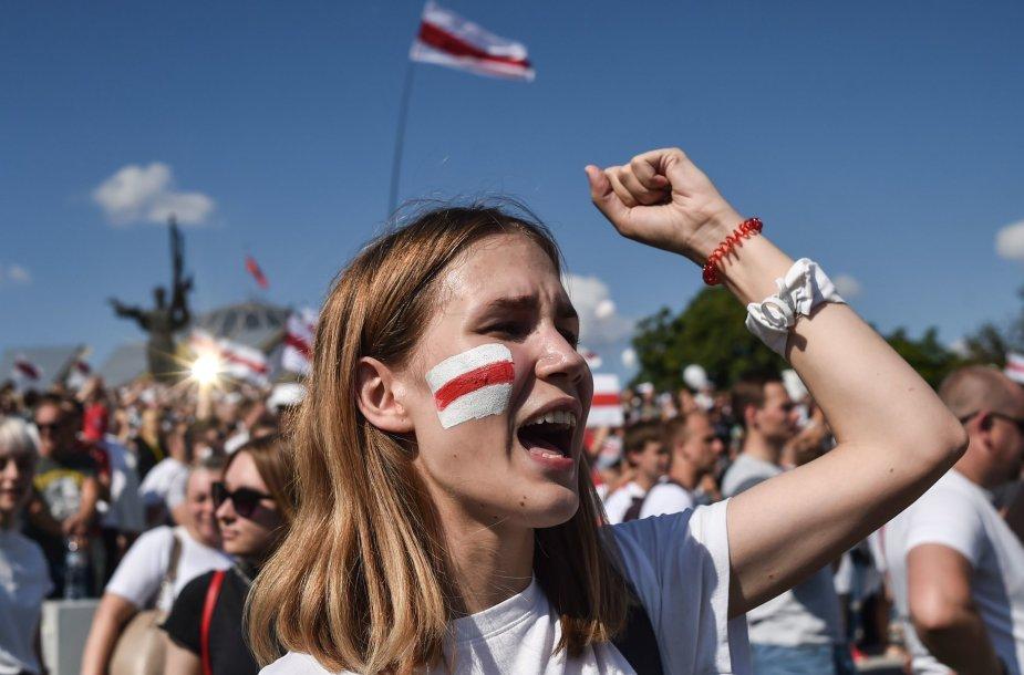 Laisvės eisena Minske