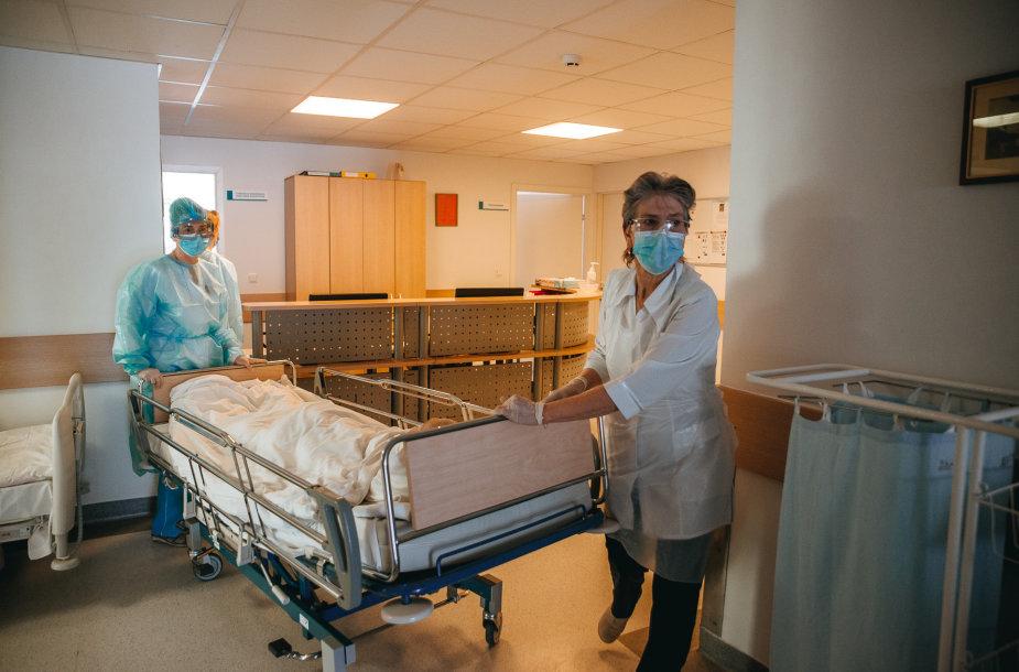 Klaipėdos Jūrininkų ligoninės darbas karantino metu