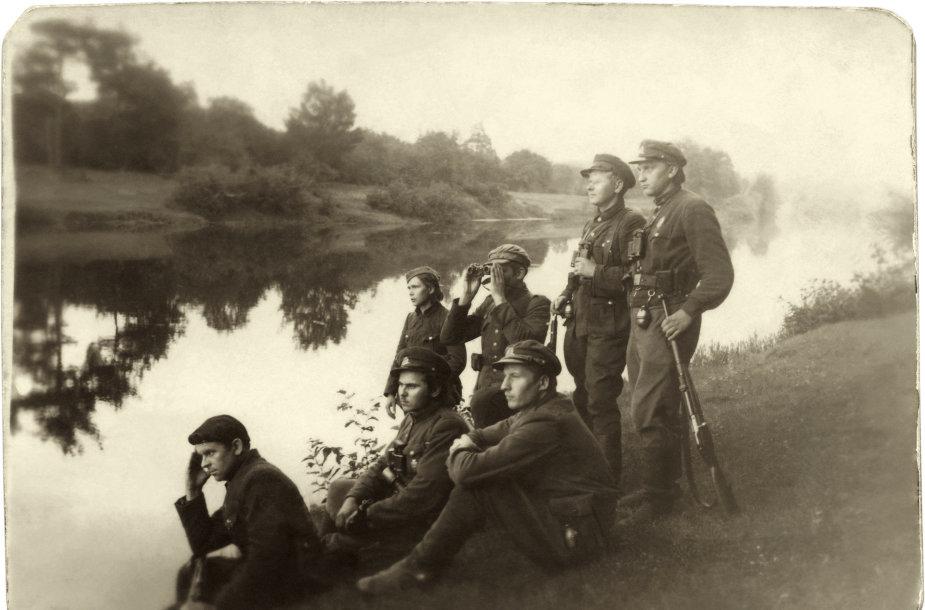 Algimanto apygardos partizanai prie Šventosios, 1947 m.