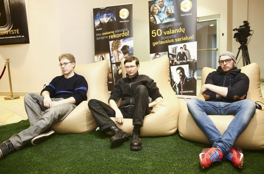 Vilniuje siekiama televizijos žiūrėjimo rekordo