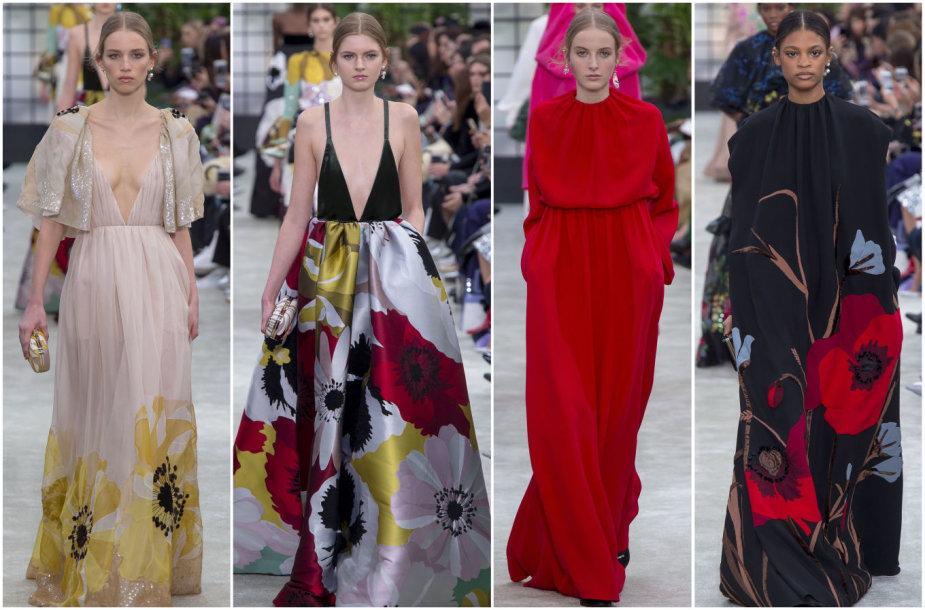 """""""Valentino"""" 2018–2019 m. rudens ir žiemos kolekcijos modeliai"""