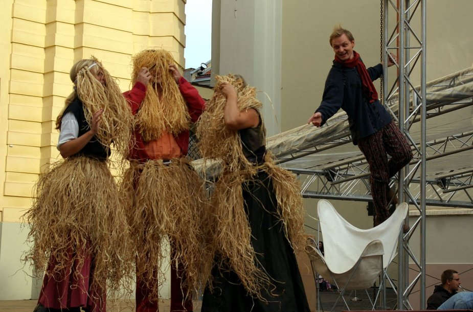"Generalinė W.A.Mocarto operos ""Don Giovanni"" repeticija"