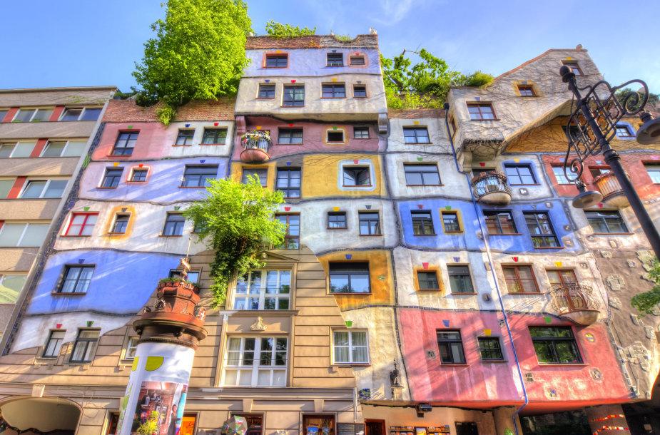 Hundertwasserhaus namas Vienoje