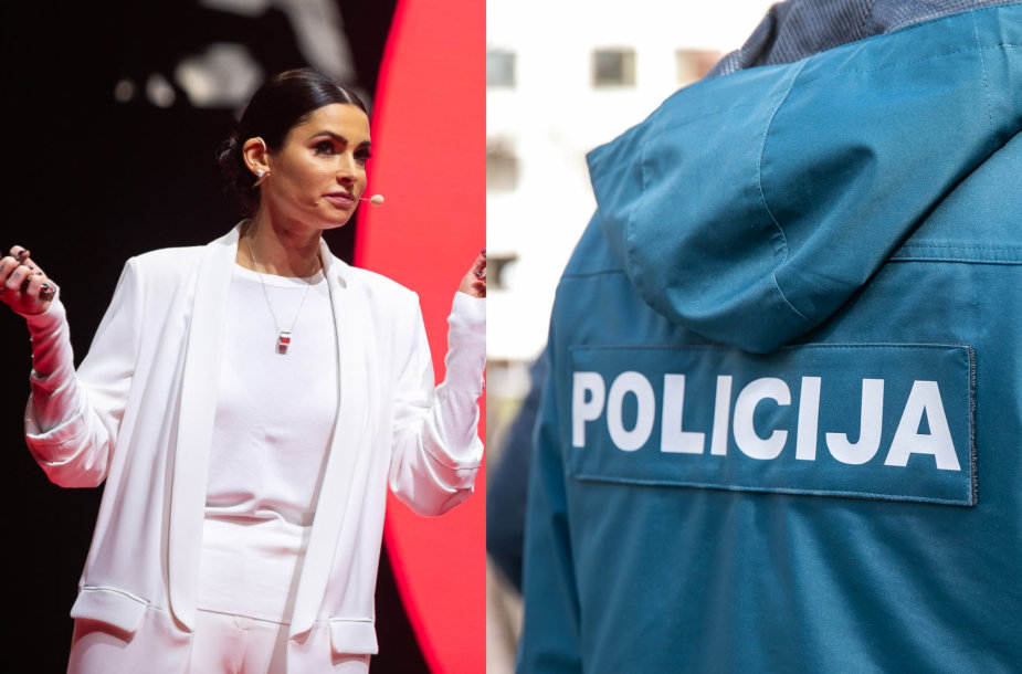 Agnė Jagelavičiūtė, policija