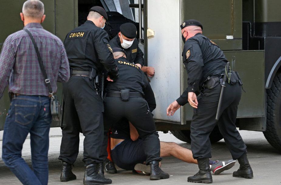 OMON rinkimai Minske