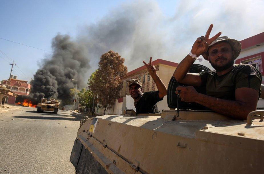 Irako pajėgos Tal Afare