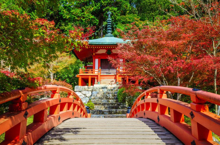 Daigo-ji šventykla Kiote