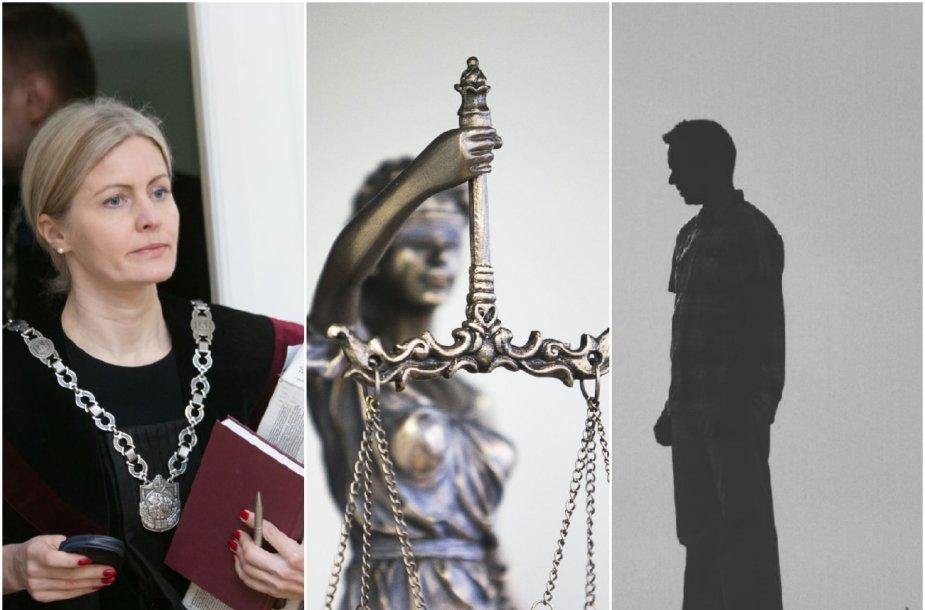 J.Kolyčienė (kairėje) įsitikinusi, kad jos asmeninė byla kolegų rankomis buvo išnagrinėta nešališkai.