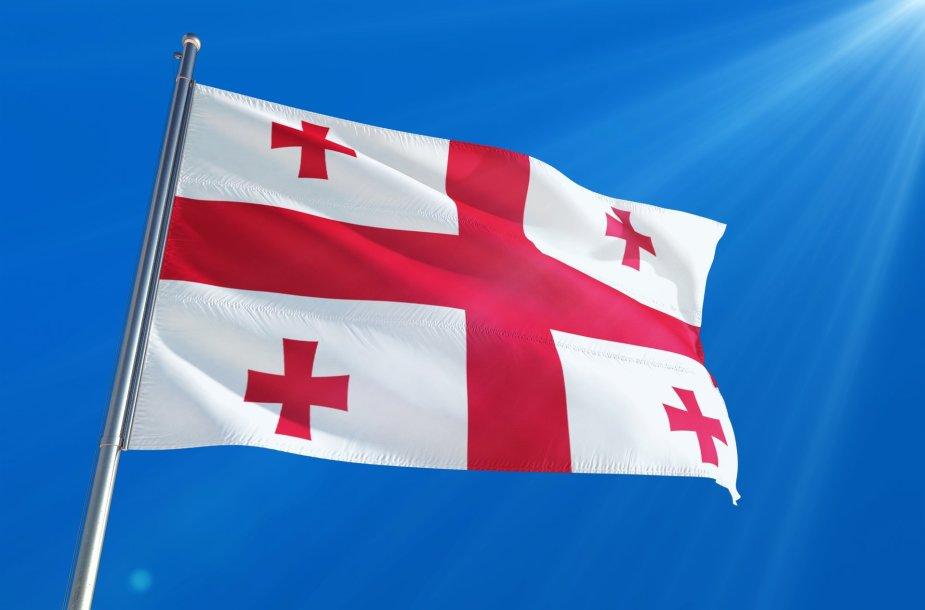 Sakartvelo vėliava
