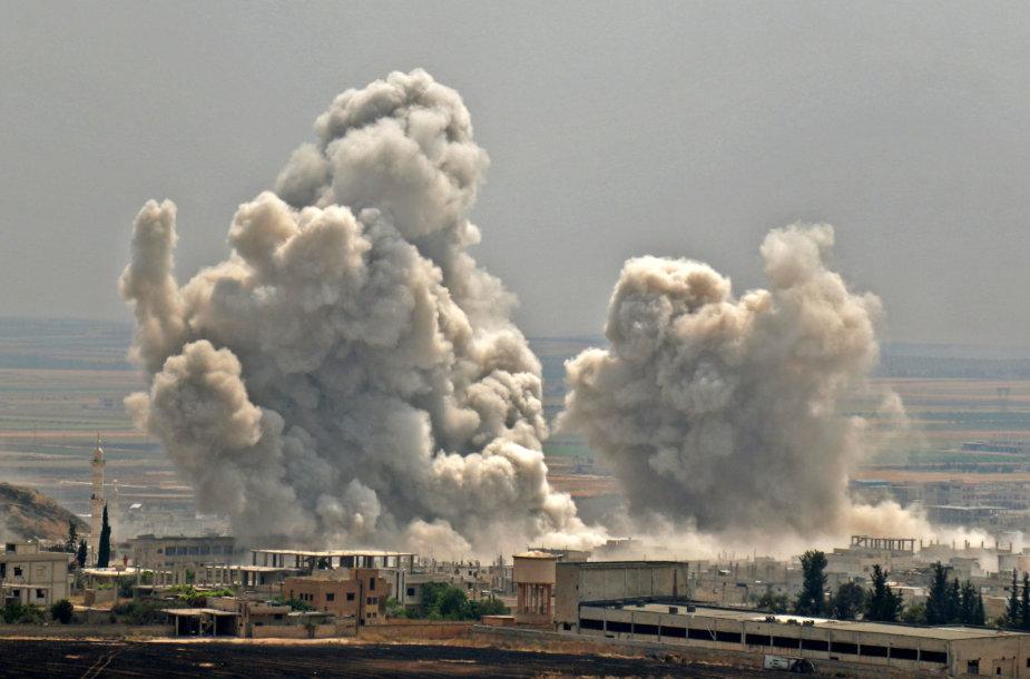 Bombardavimai Sirijos Idlibo provincijoje