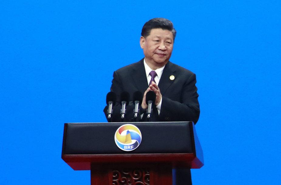 Xi Jinpingas svarbiame forume Pekine