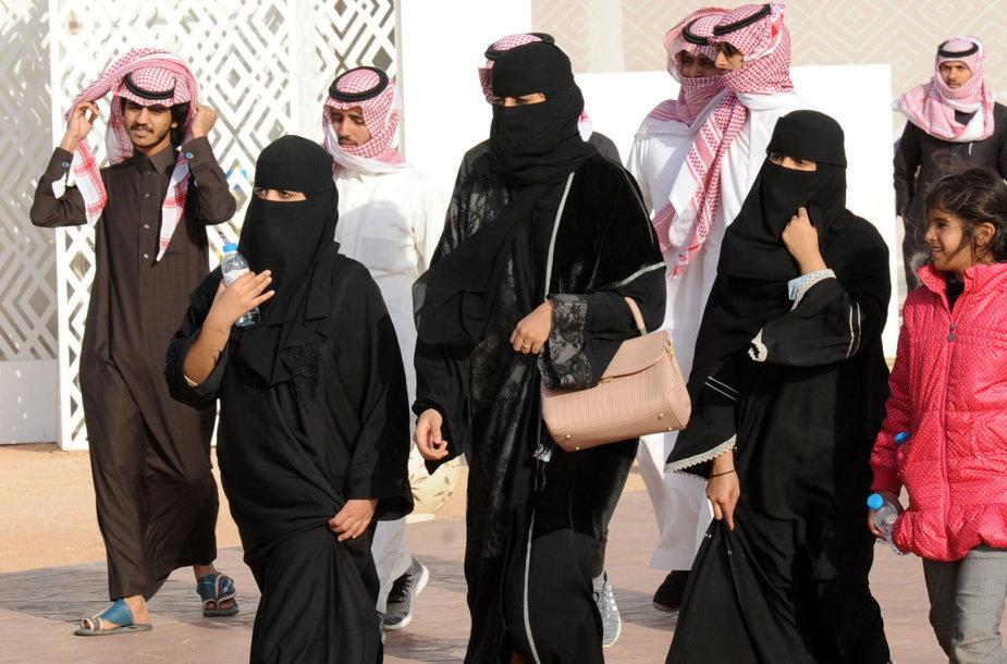 Saudo Arabijoje moterims suteikiama vis daugiau teisių